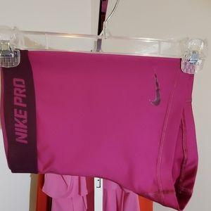 Nike Pro Athletic trading shorts